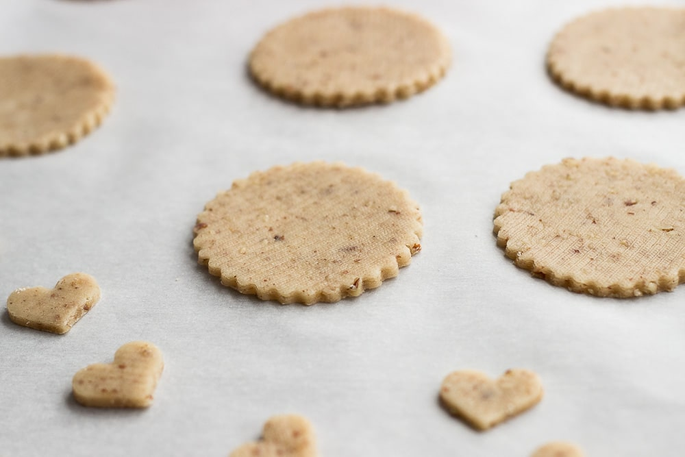 Pecan Linzer Heart Cookies | The Beach House Kitchen