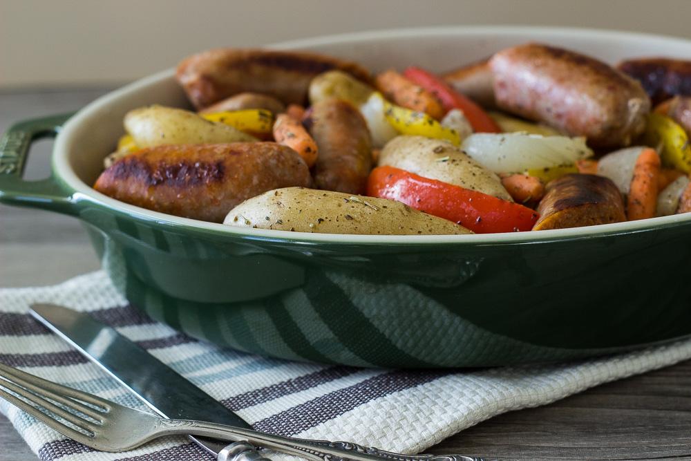 Hearty Sausage Potato Bake