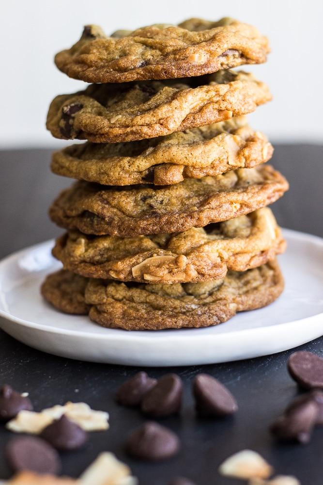 Almond Joy Chocolate Chip Cookies