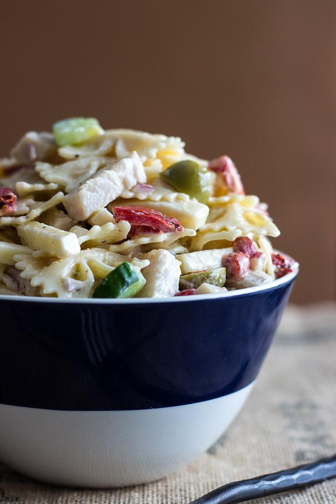 Pasta Salad Recipe With Italian Dressing