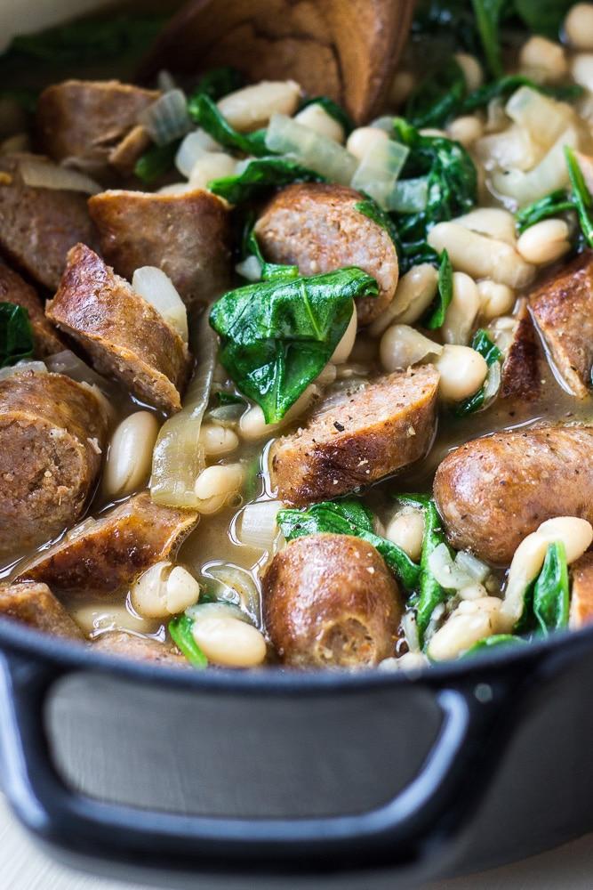 White Bean and Chorizo Stew