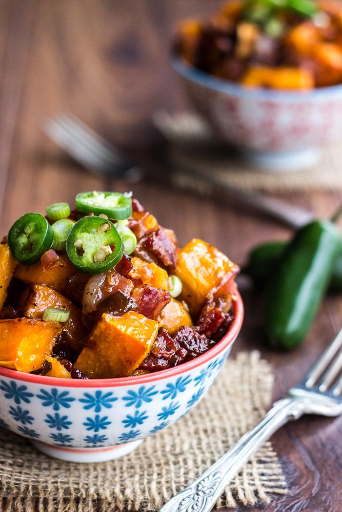 Spicy Sweet Potato Salad