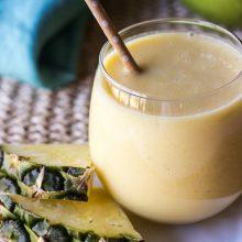 Sunrise Pineapple Mango Smoothie