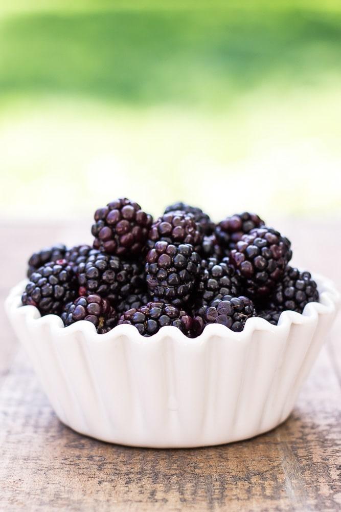 almond blackberry financiers