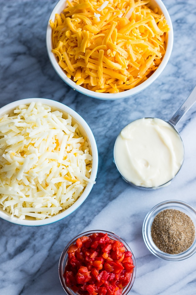 Pimento Cheese Ingredients