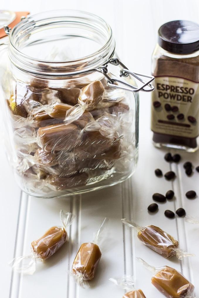 Easy Espresso Caramels