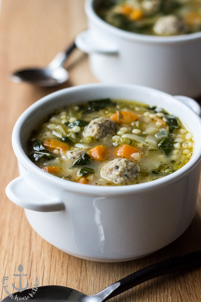 The Beach House Kitchen Italian Wedding Soup