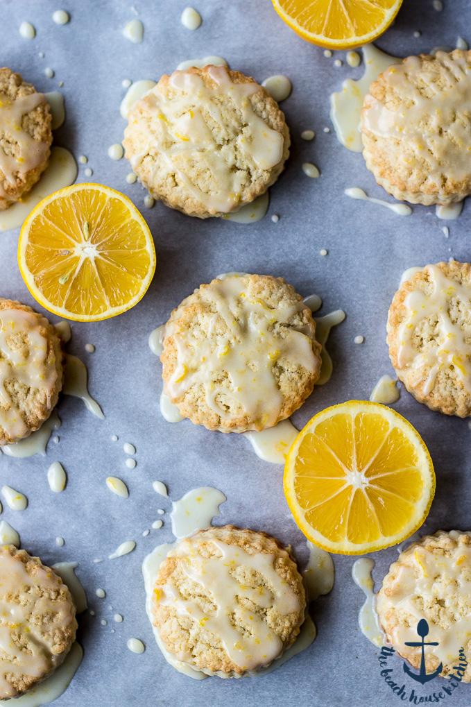 Meyer Lemon Cream Scones