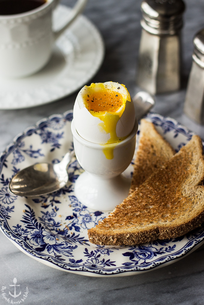 Tom's Perfect Soft Boiled Eggs