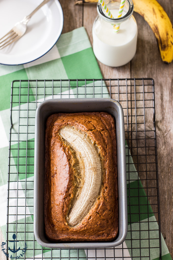 Easy Bron Butter Banana Bread