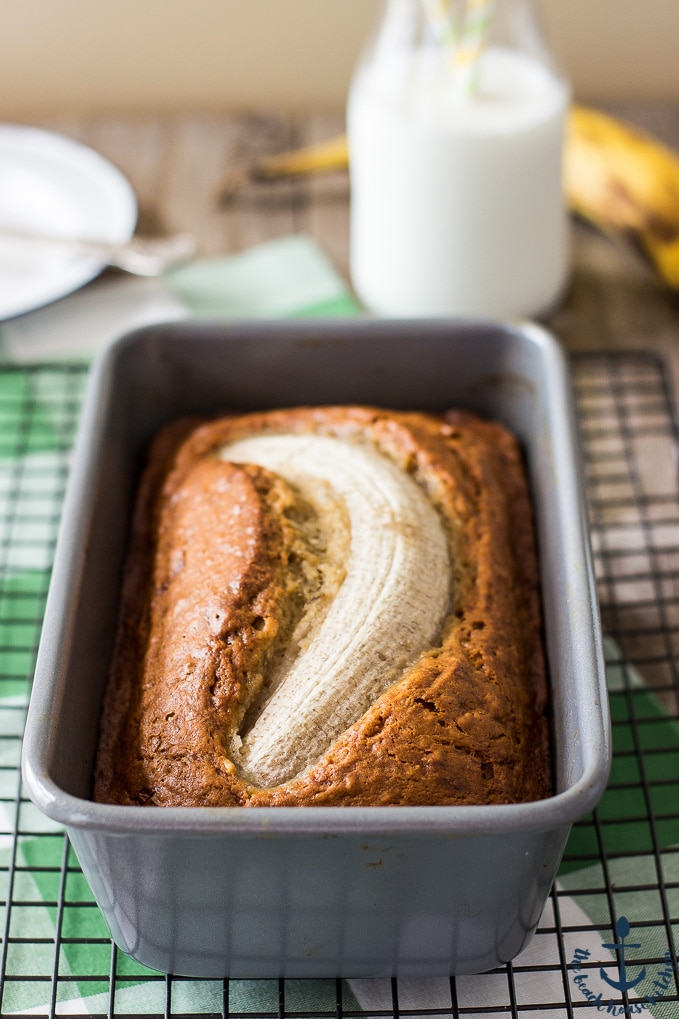Easy Brown Butter Banana Bread