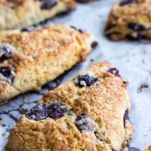 Cherry Vanilla Scones