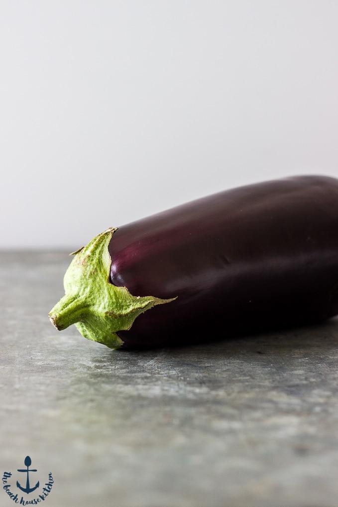 Eggplant, Caramelized Onion, Tomato and Burrata Pasta
