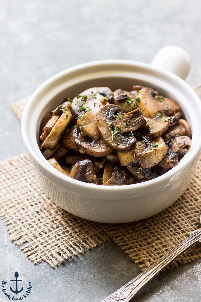 Marsala Mushrooms | The Beach House Kitchen