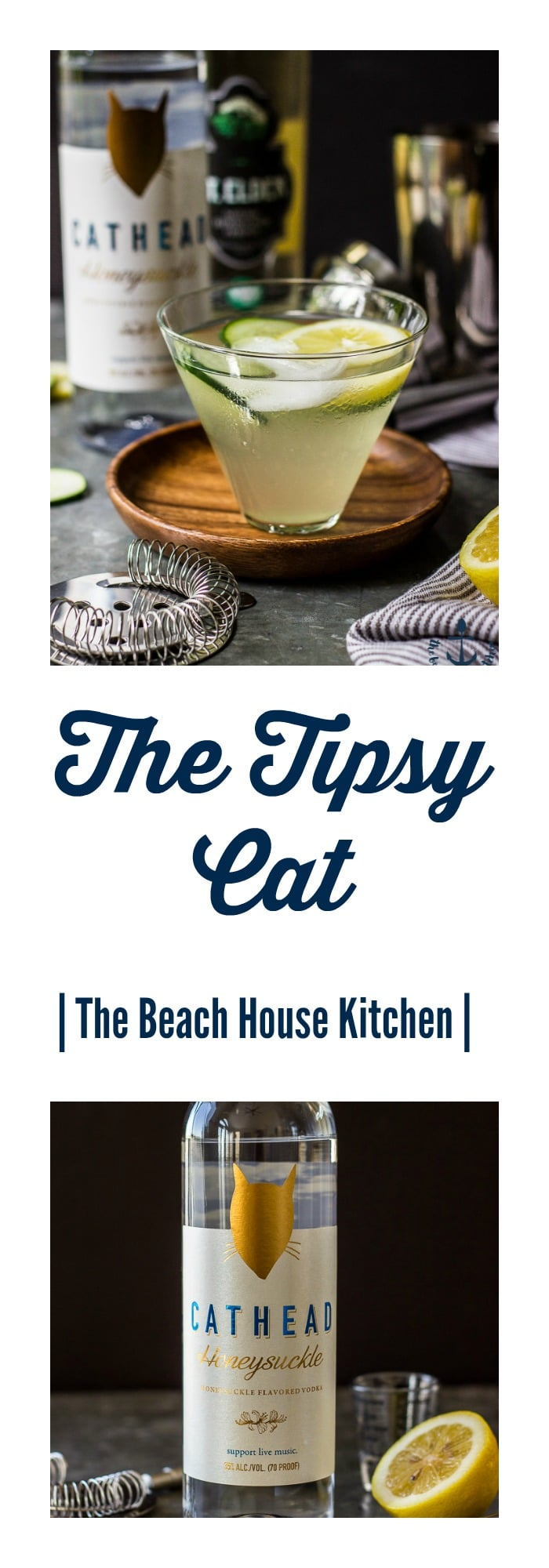 The Tipsy Cat Cocktail