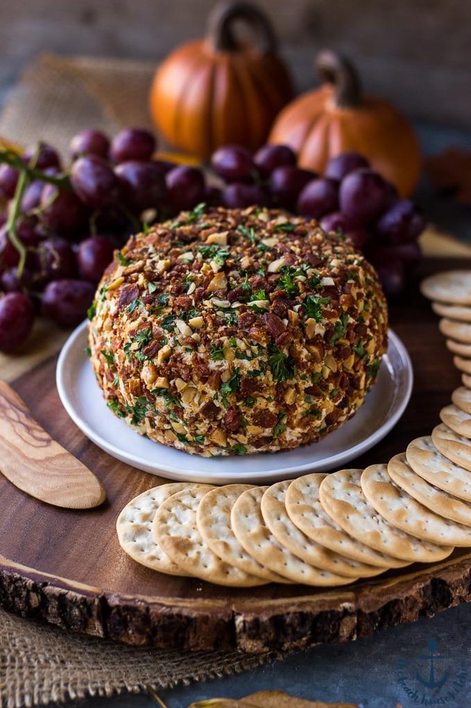 Jalapeno Bacon Ranch Cheese Ball