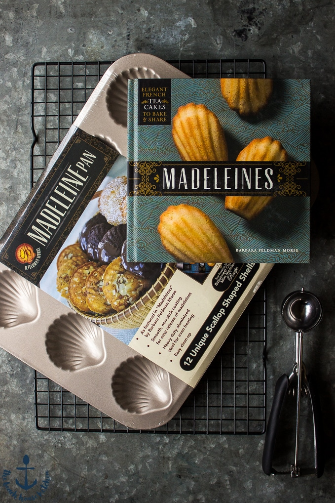 Espresso Chip Madeleines and a Giveaway