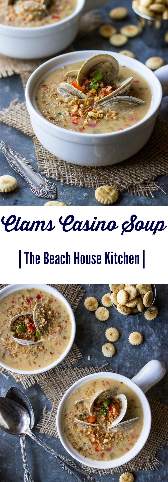 Clams Casino Soup