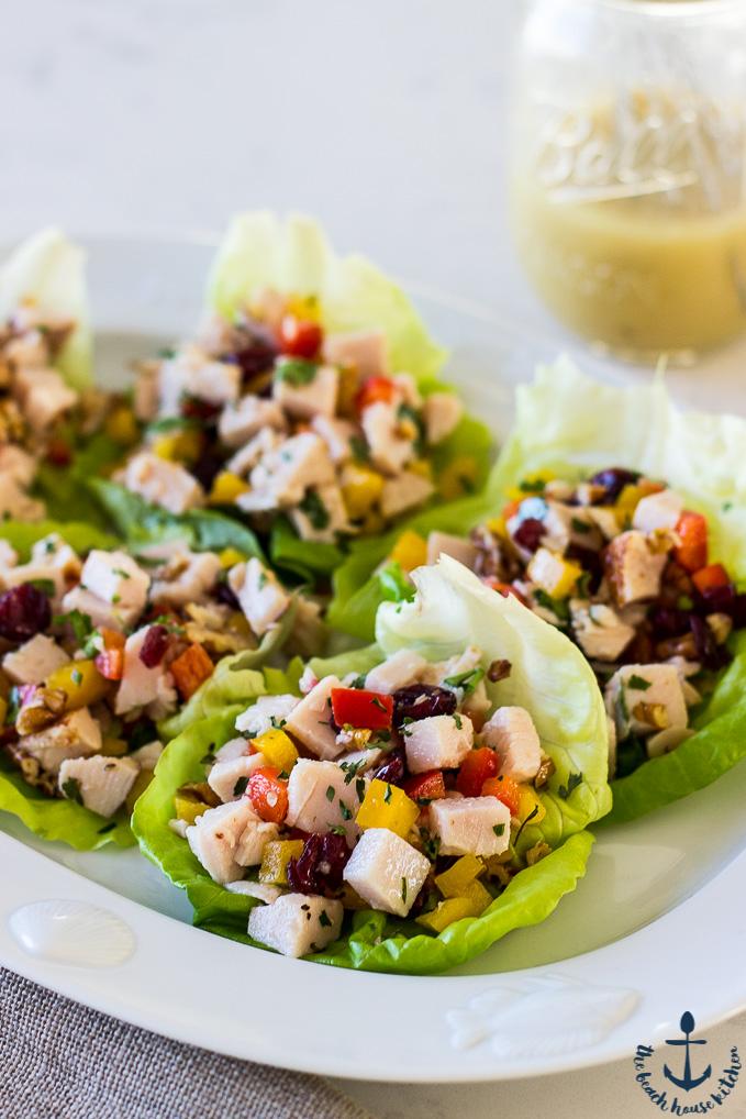 Turkey Salad with Honey Dijon Vinaigrette