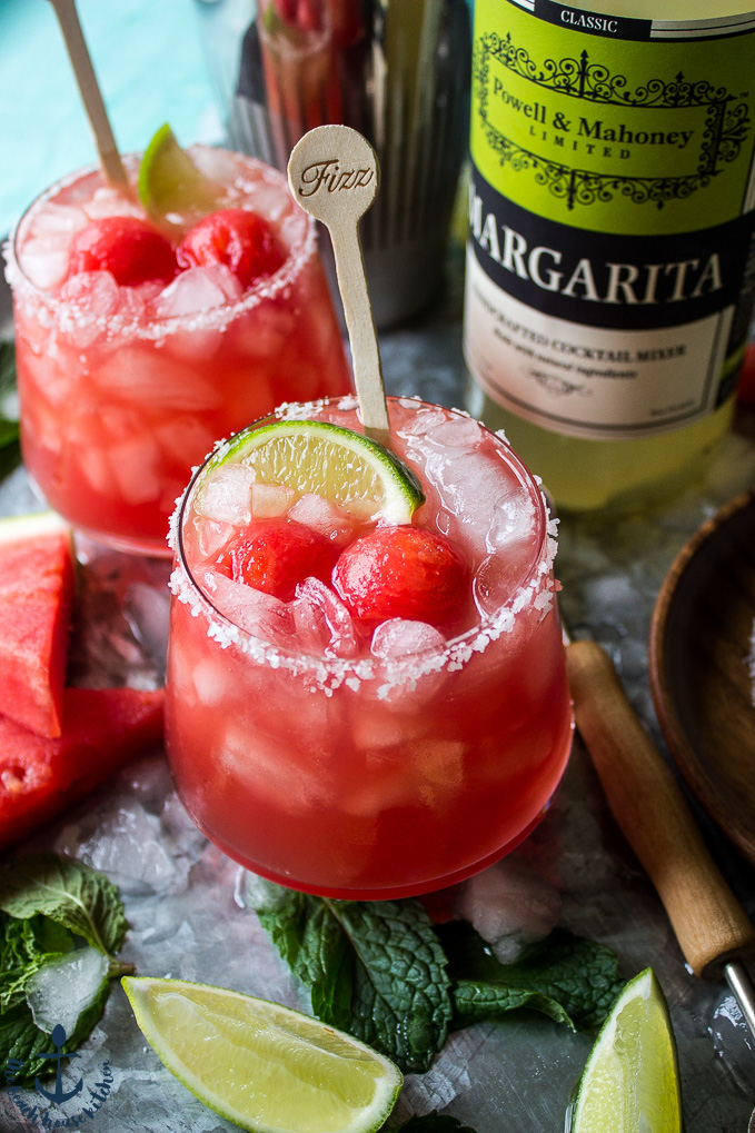 Watermelon Mint Margarita
