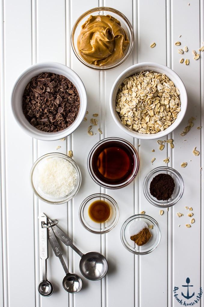 Chocolate Espresso Almond Energy Bites