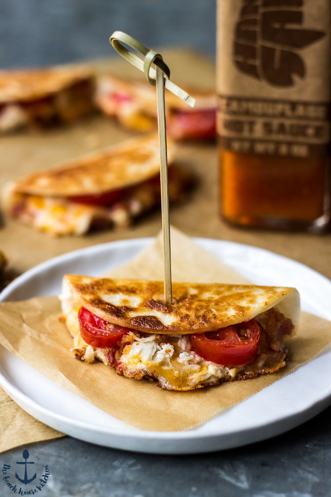 Mini Chicken & Pimento Cheese Quesadillas