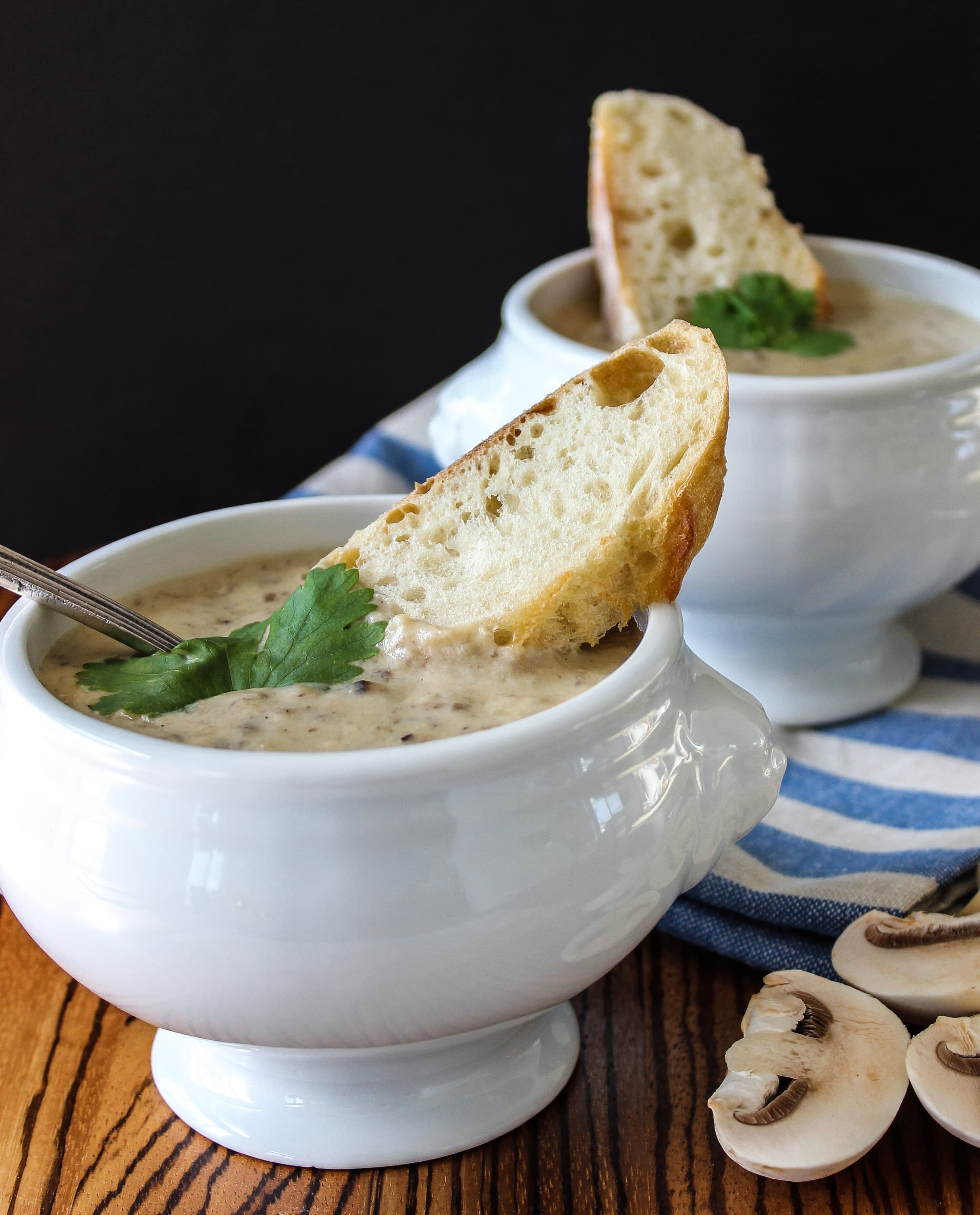 Classic Cream of Mushroom Soup