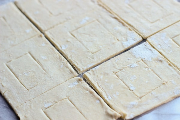 Puff Pastry for Savory Caramelized Onion Tarts