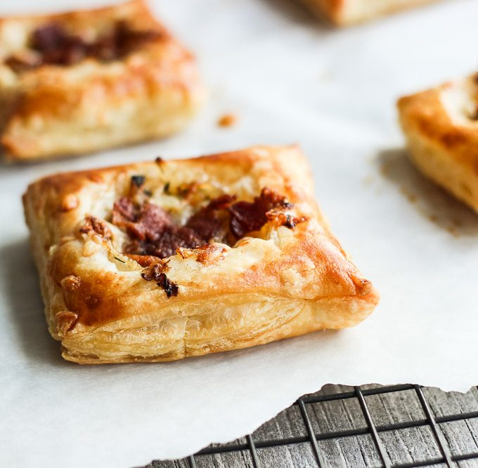 Savory Caramelized Onion Tarts
