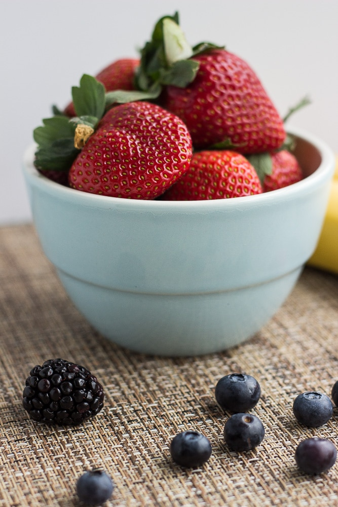 Loaded Berry Smoothie Ingredients
