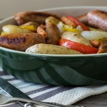 Hearty Sausage Potato Bake