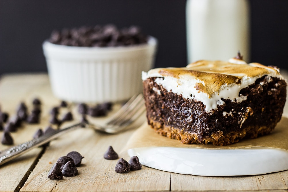 Dacadent S'mores Brownies