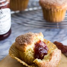 Cinnamon Sugared Doughnut Muffins