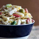 Zesty Twisted Turkey Pasta Salad
