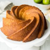Key Lime and Coconut Bundt Cake
