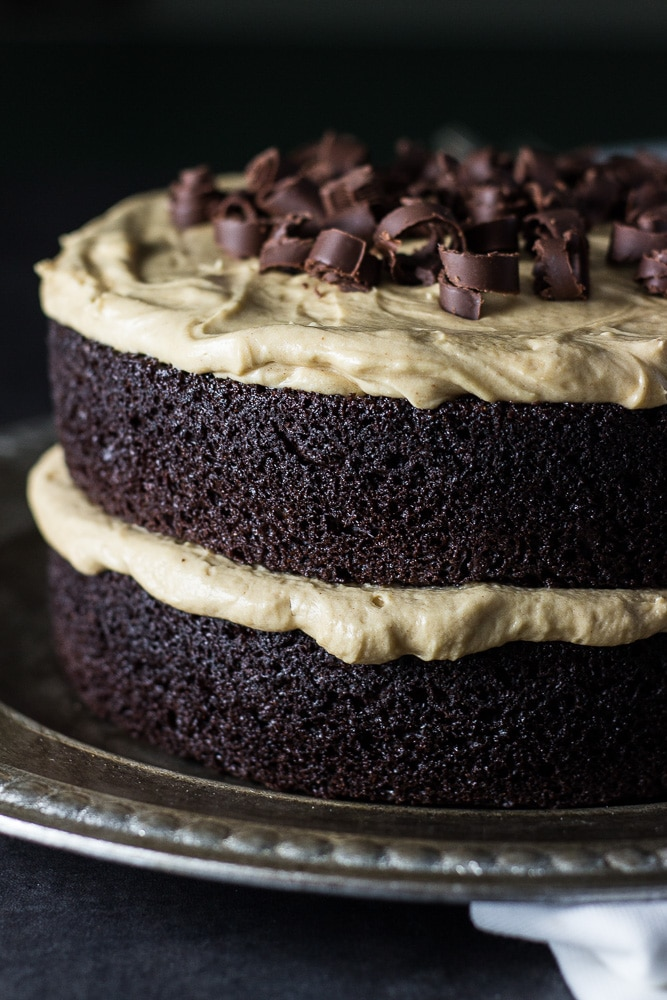 Layer Butter Icing Chocolate Cake