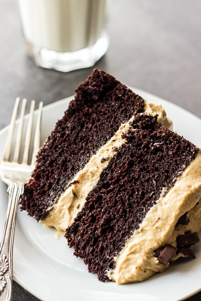 Chocolate Layer Frosted Cake