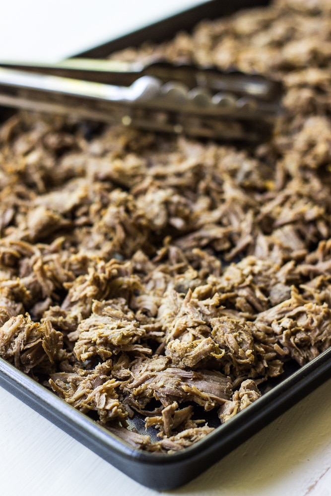Crispy Pork Carnitas Tacos