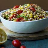 Farro, Corn and Tomato Salad