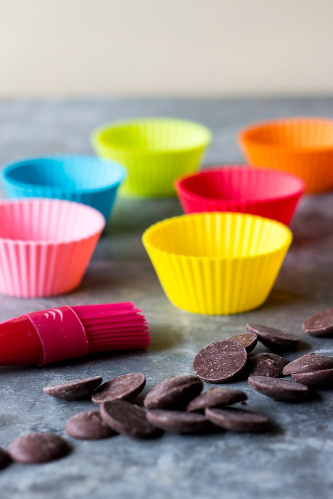 Easy Chocolate Mousse in Chocolate Cups