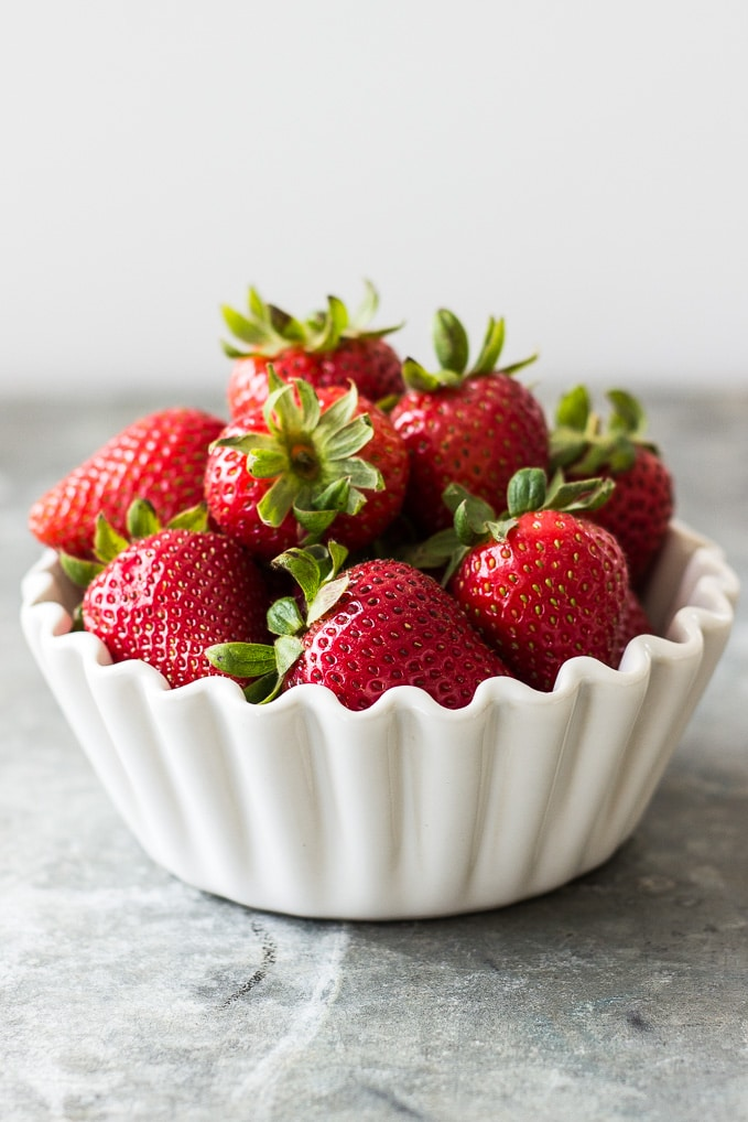 Buttermilk Strawberry Sherbet