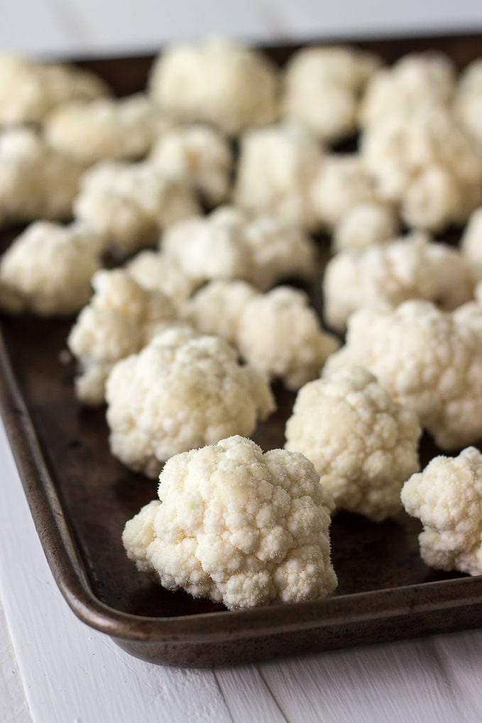 Horseradish Cauliflower Au Gratin