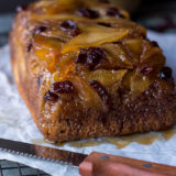 Caramelized Apple Cranberry Upside Down Bread