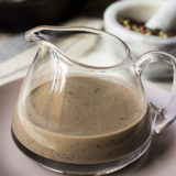 Bourbon Peppercorn Sauce