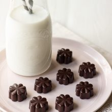 Simple Paleo Chocolates with Coconut and Espresso Beans