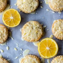 Meyer Lemon Cream Scones