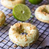 Key Lime Pie Dounuts