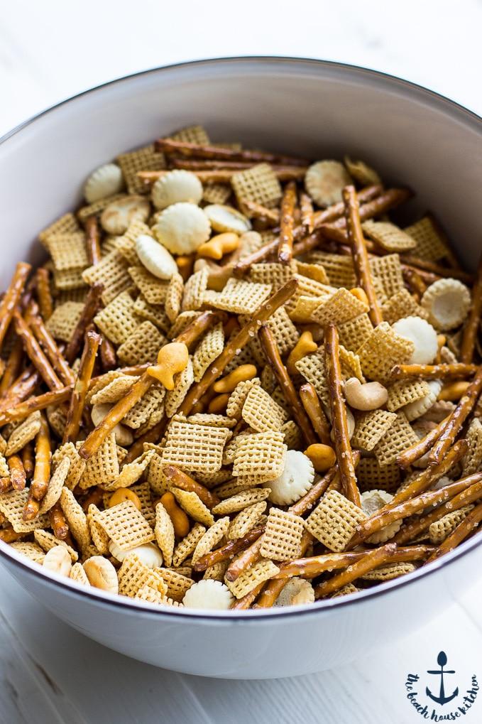 Crabby Snack Mix