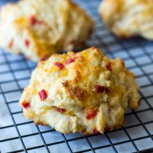 Pimento Cheese Drop Biscuits