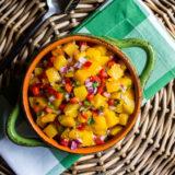 Summer Peach Salsa